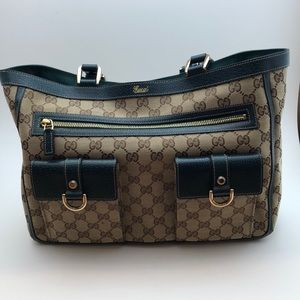 bf3c11a50db Gucci Bags - NEW Authentic Gucci Crystal Abbey Lg Pocket Tote